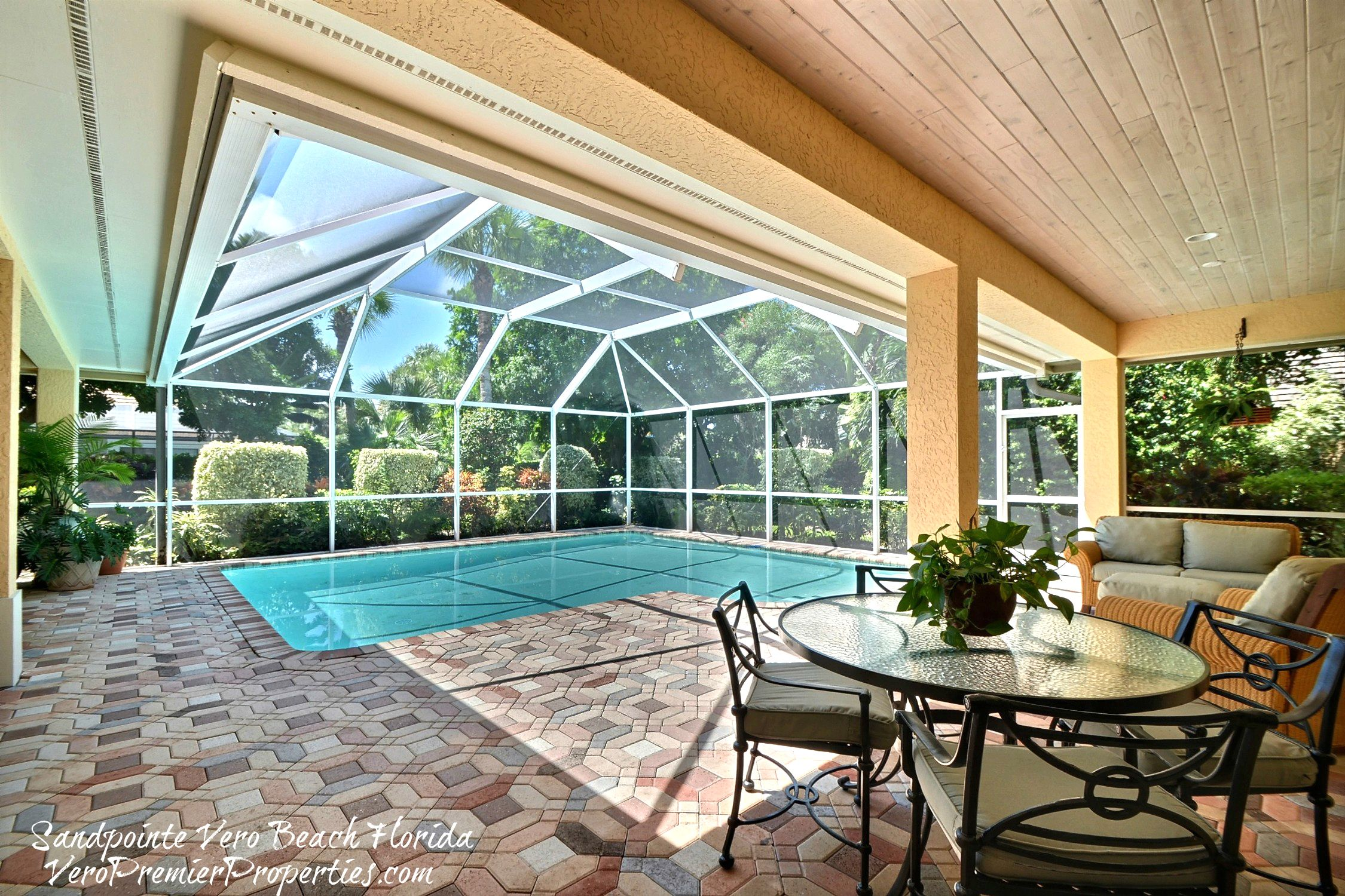 Covered Pools In Florida It is a covered area so you SANDPOINTE