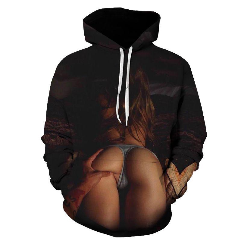 women hoodies Naked