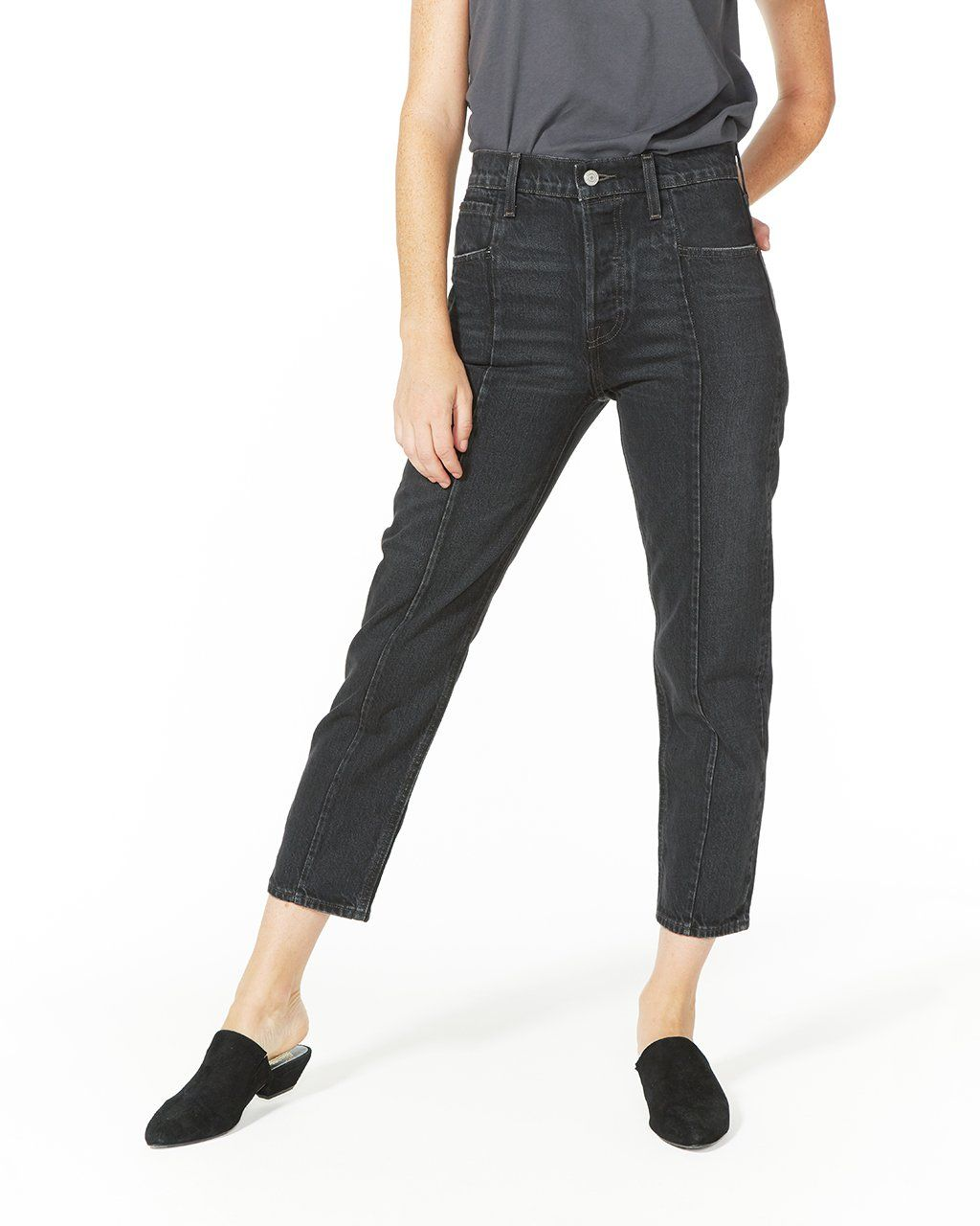 02ef76c814e30 close call altered straight jeans   clothes   Jeans, Fashion, Clothes