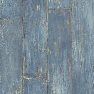 Blue wood vinyl perfect for bed or bath type floating for Blue vinyl flooring bathroom
