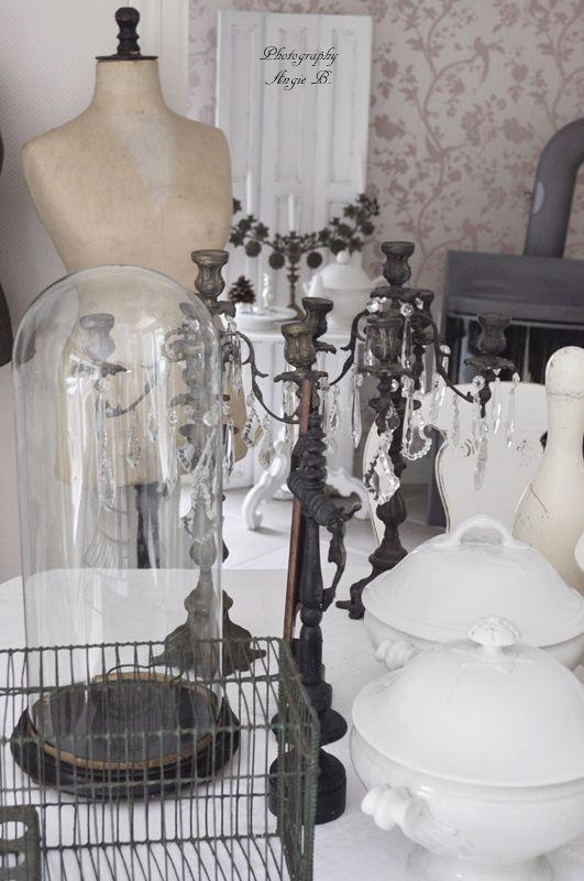 Dreams come true shabby pinterest glas und glasglocke - Glasglocke dekorieren ...