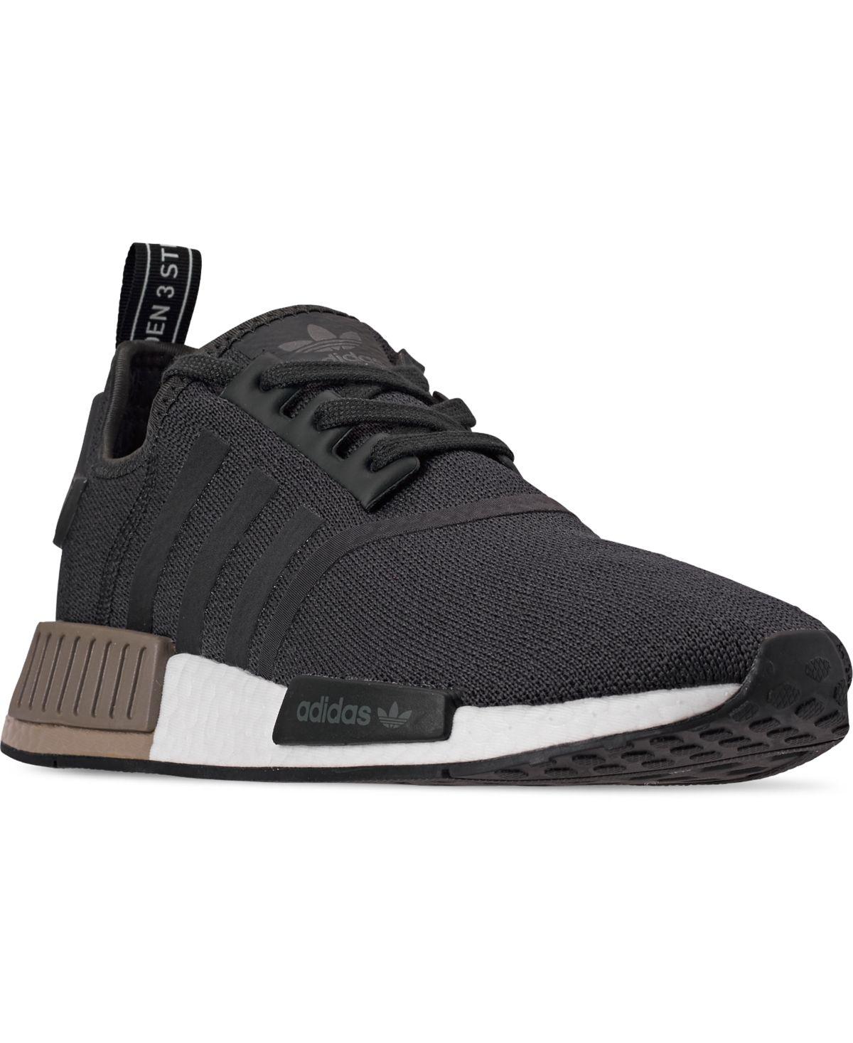 Good Men and Women Adidas Originals NMD R1 Core Black White Sneaker