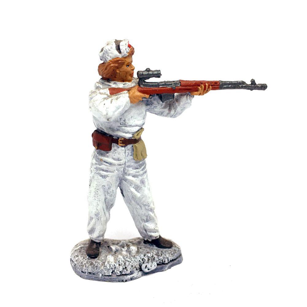 WW2 54 mm Sniper Vasily Zaitsev 1942 the USSR Tin Soldier Stalingrad
