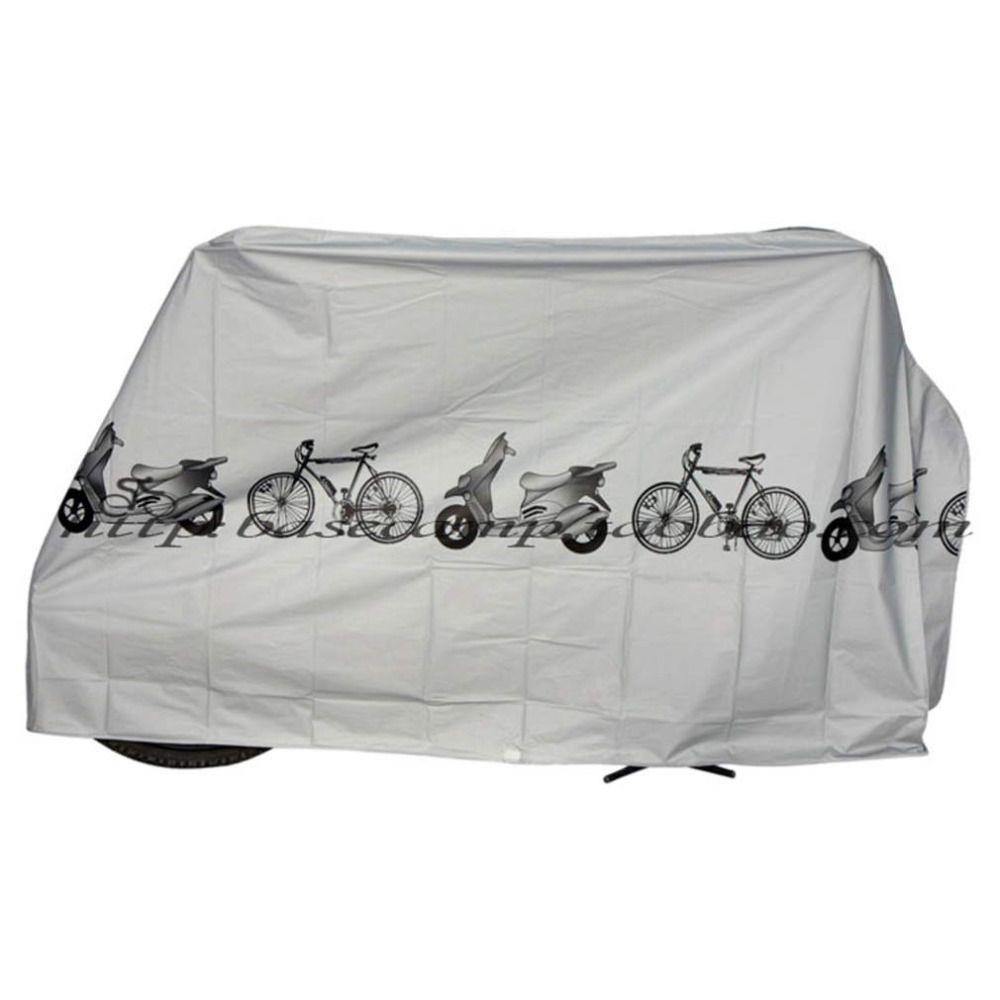 UV 보호 커버 방진 자전거 비 먼지 커버 방수 야외 회색 자전거 자전거 자전거 무료 배송