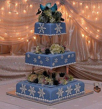 snowflake decorations for parties | InvitingSmiles Blog » Blog Archive » Winter Wedding Decorations