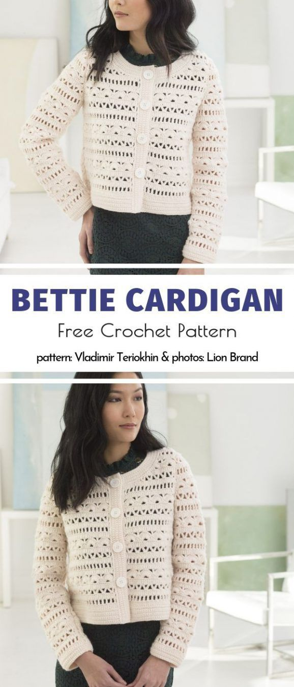 Crochet Lace Cardigans Free Patterns - Crochet Cardigan