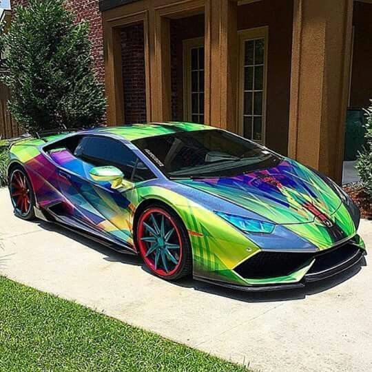 Follow me for more alphalif3style we show luxury in - Rainbow lamborghini ...