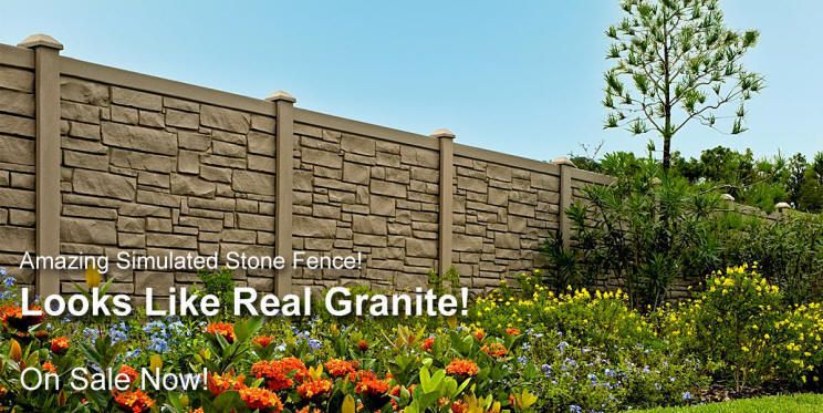 Vinyl Fence Deck Wholesaler Vinyl Fence Vinyl Fencing Stone Fence Backyard Fences Backyard