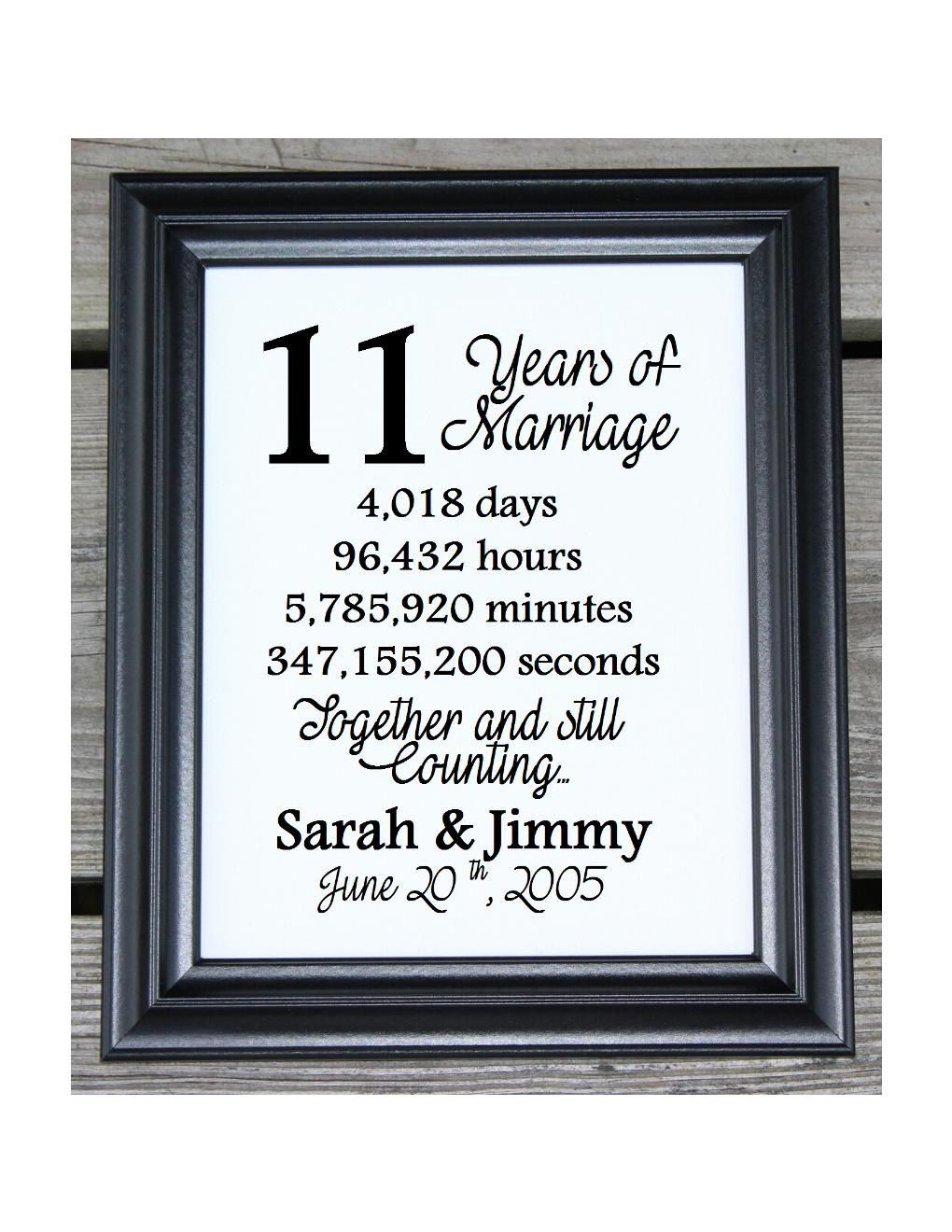 11th Wedding Anniversary Cotton Print 11th Wedding Gift 11 Etsy 11th Anniversary Gifts 18th Wedding Anniversary 12th Wedding Anniversary