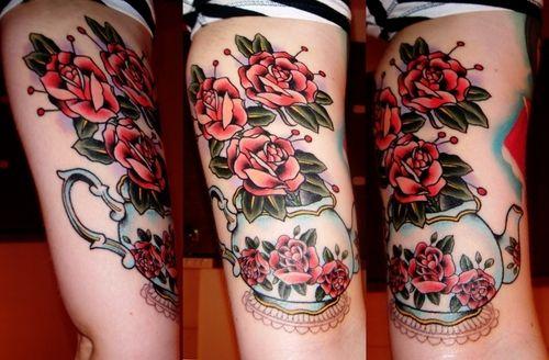 Tea tattoo inspiration