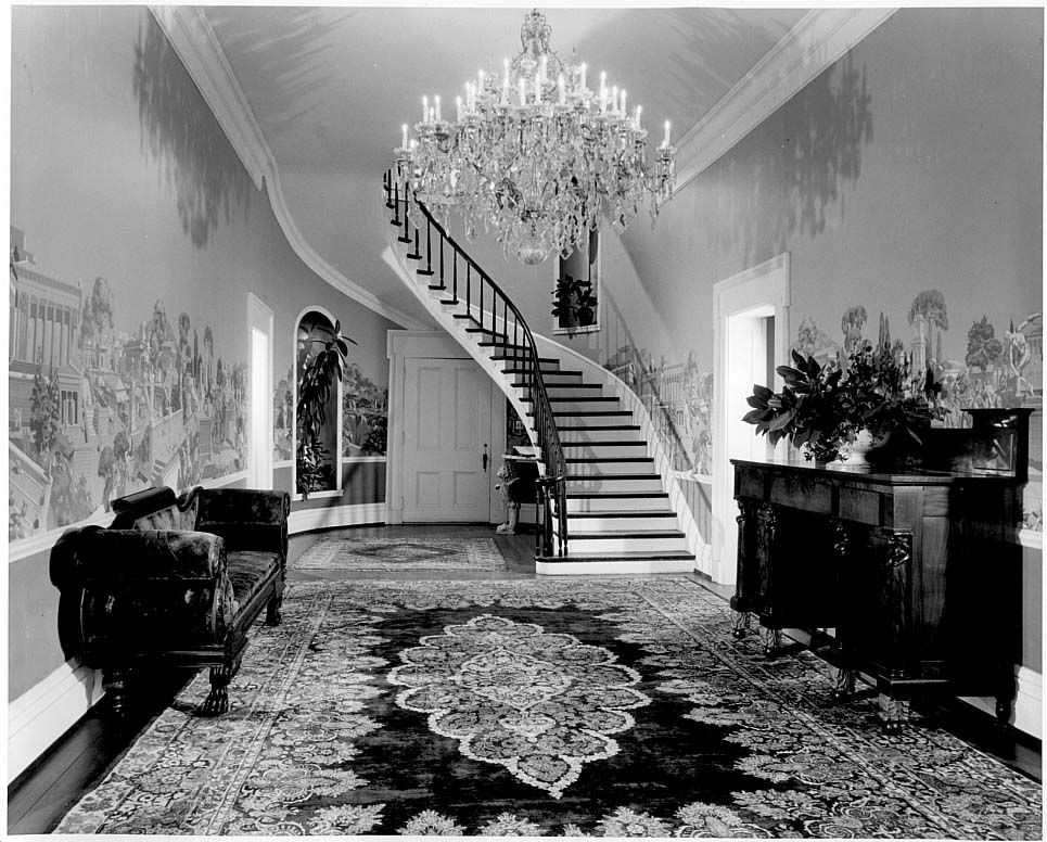 Belle Meade Mansion Rooms 19223 The interior entrance