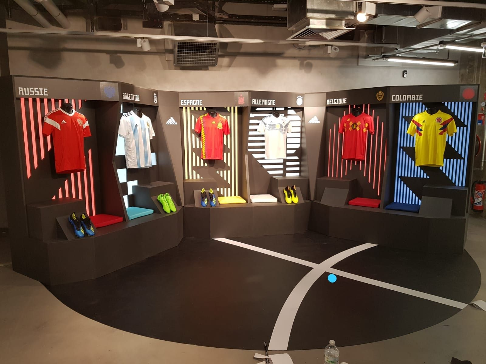 check-out cd6fd 61c4e Adidas Champs Élysée . We are young agency . | Exhibit ...