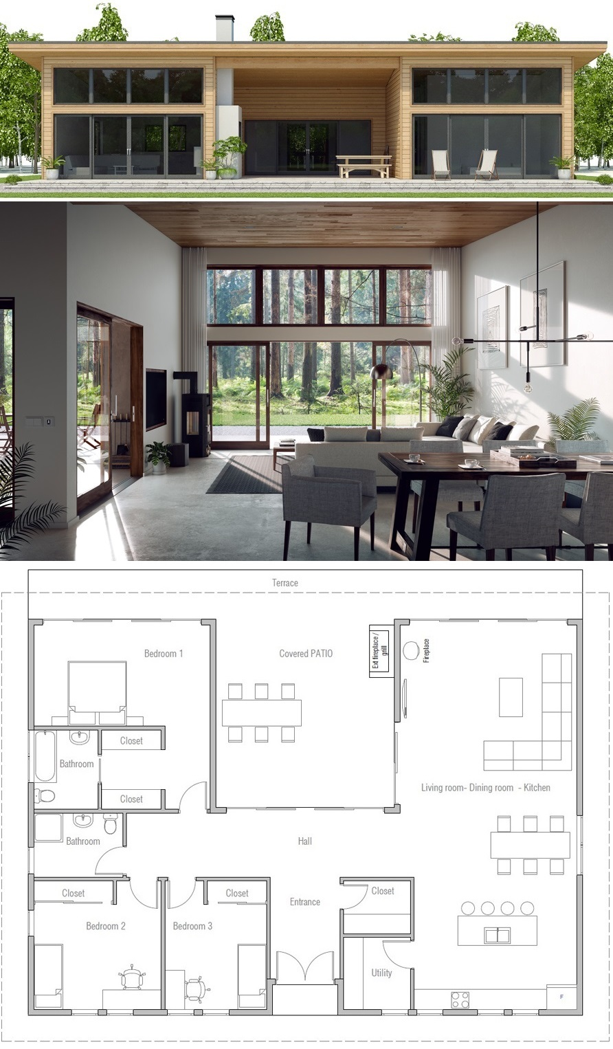 House Design Ch493 House Layout Plans New House Plans House Layouts