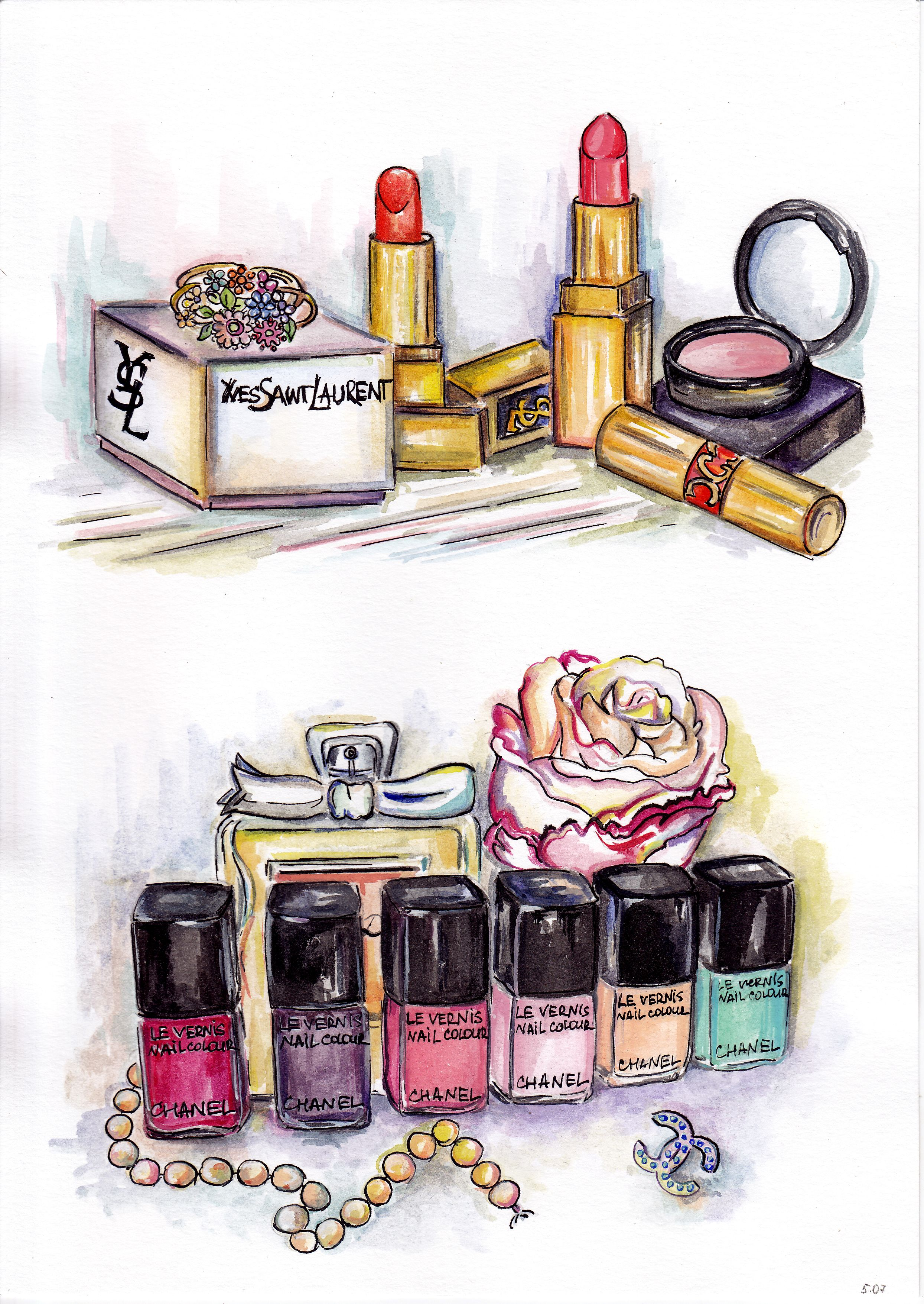 Mas maquillaje | MAKEUP | Pinterest | Zeichnen, Aquarell und ...
