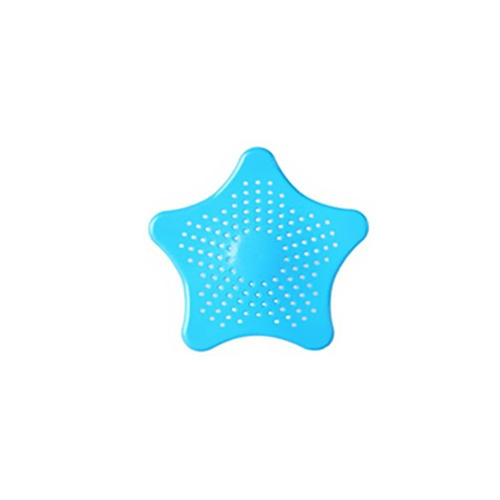 TopLove Starfish Shaped Rubber Sink Strainer Floor Drain Cover Hair ...