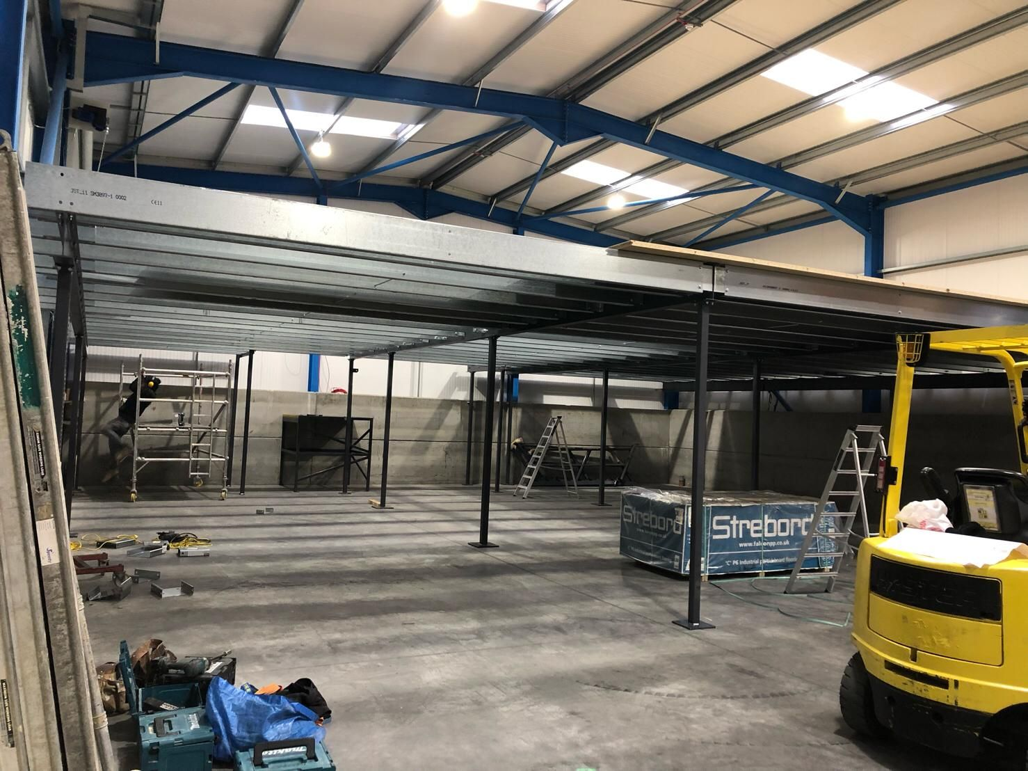 As Part Of Cross Rental S Rapid Expansion We Are Building Extensive Office Facilities At Our Hq In Andover Our New Mezzanine Boiler