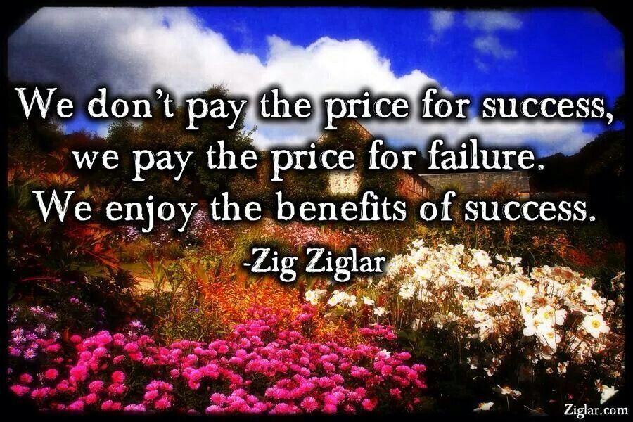 Great quote from Zig Ziglar from Facebook