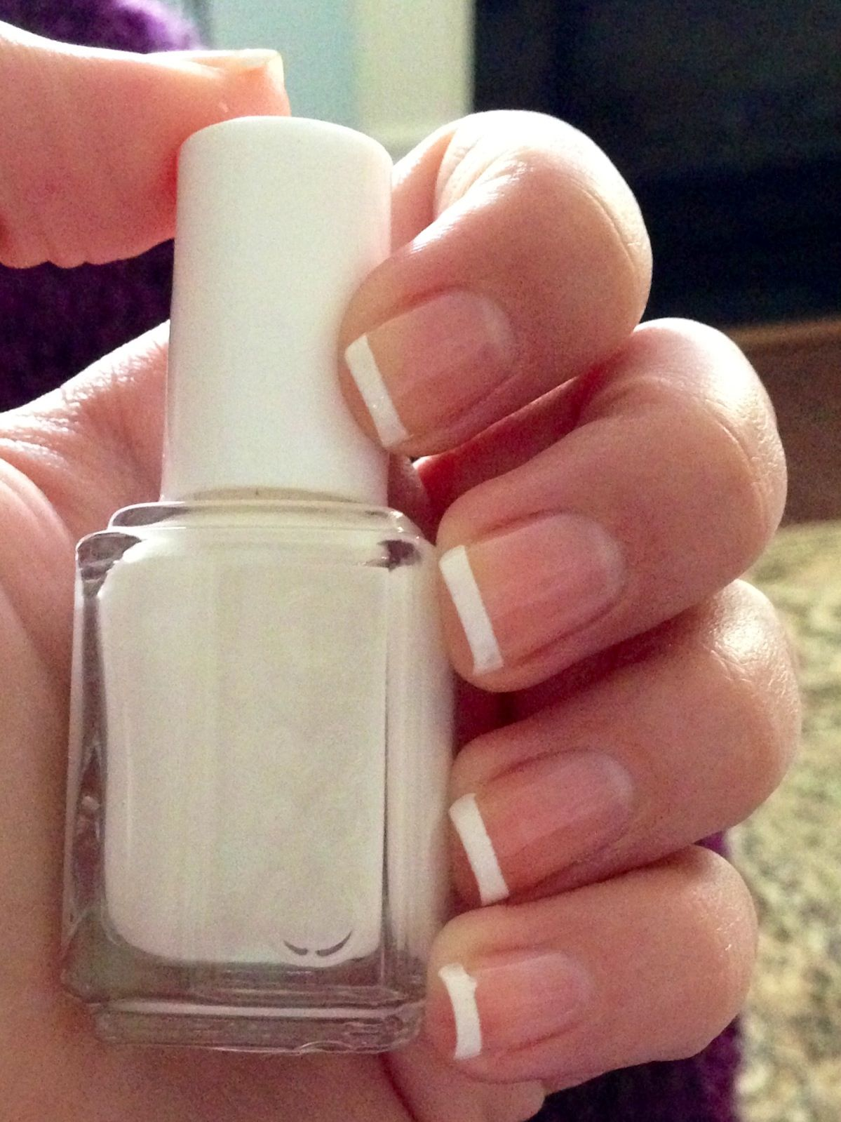 Essie: Blanc for the French tips Orly: white tip guides for the ...