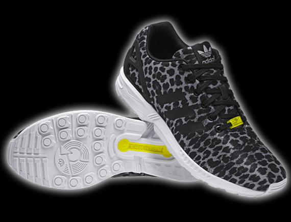 huge discount d609a 849e3 adidas ZX Flux Grey Cheetah
