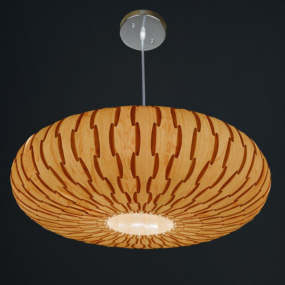 High Quality Beautiful Handmade Wood Veneer Lamp, A Great Lighting For Dining Room And  Bedroom By Oaklamp Great Pictures