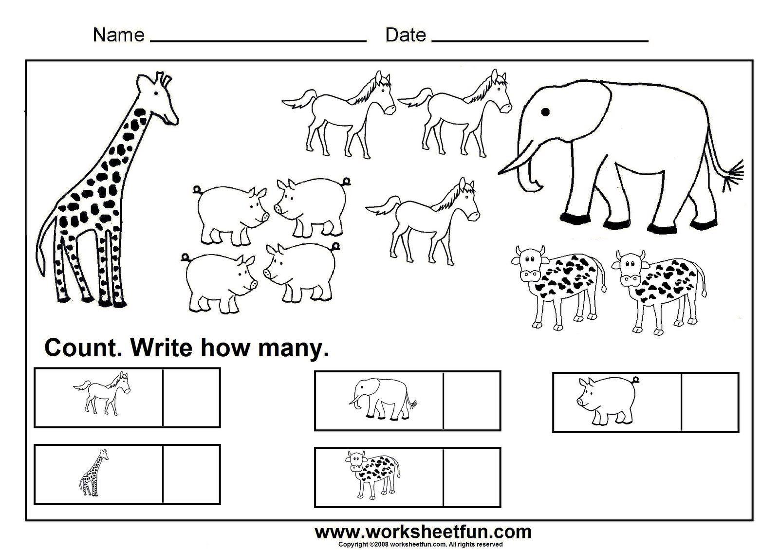 math worksheet : 1000 images about kindergarten math on pinterest  math  : Kindergarten Counting Worksheets