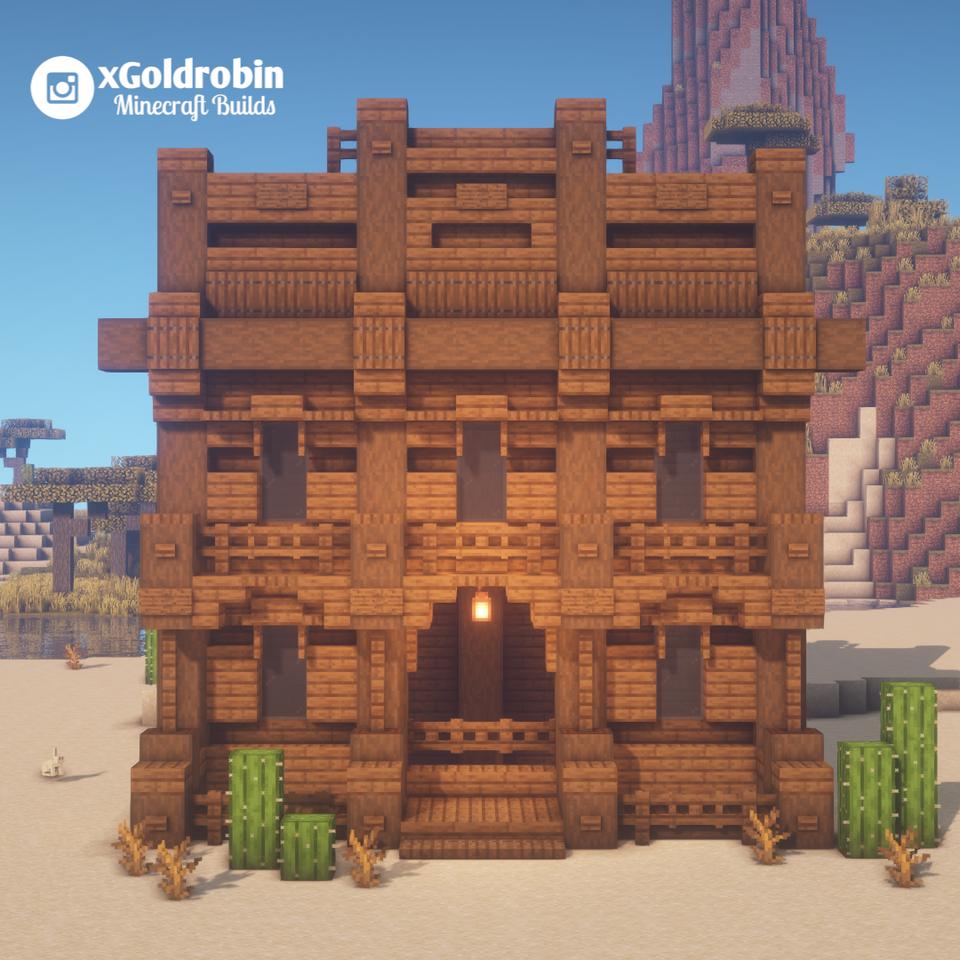 Western House    Minecraft