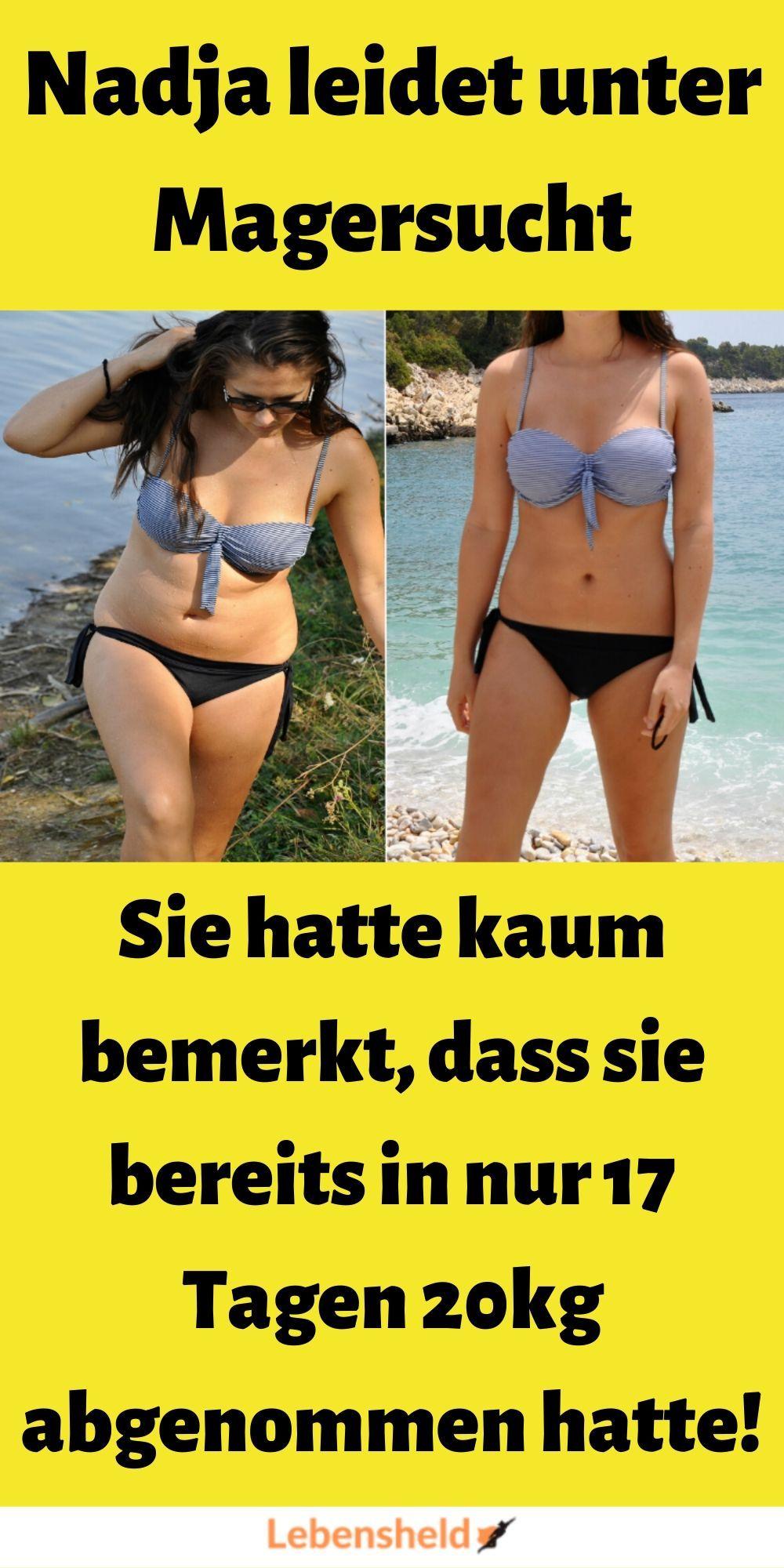 Wo der Gewichtsverlust bemerkt wird