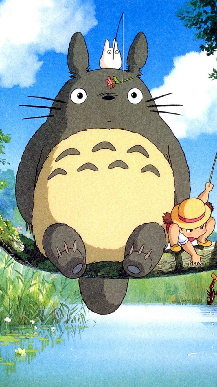 Ghibli My Neighbor Totoro Anime IPhone 6 Wallpaper