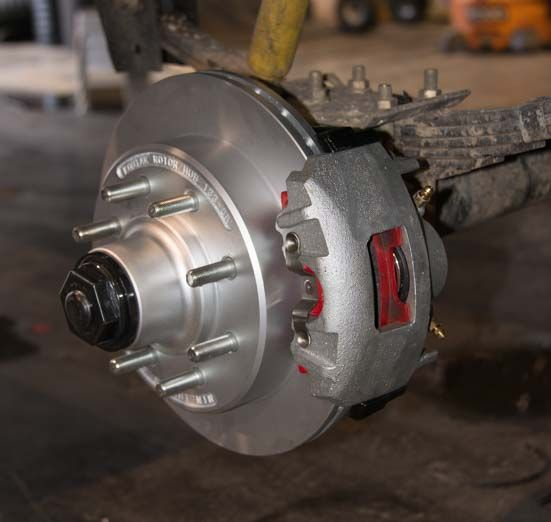 Trailer Disc Brake Conversion