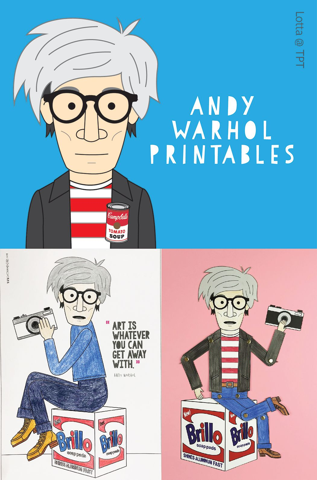 - Andy Warhol Posters. Andy Warhol Coloring Pages. Andy Warhol