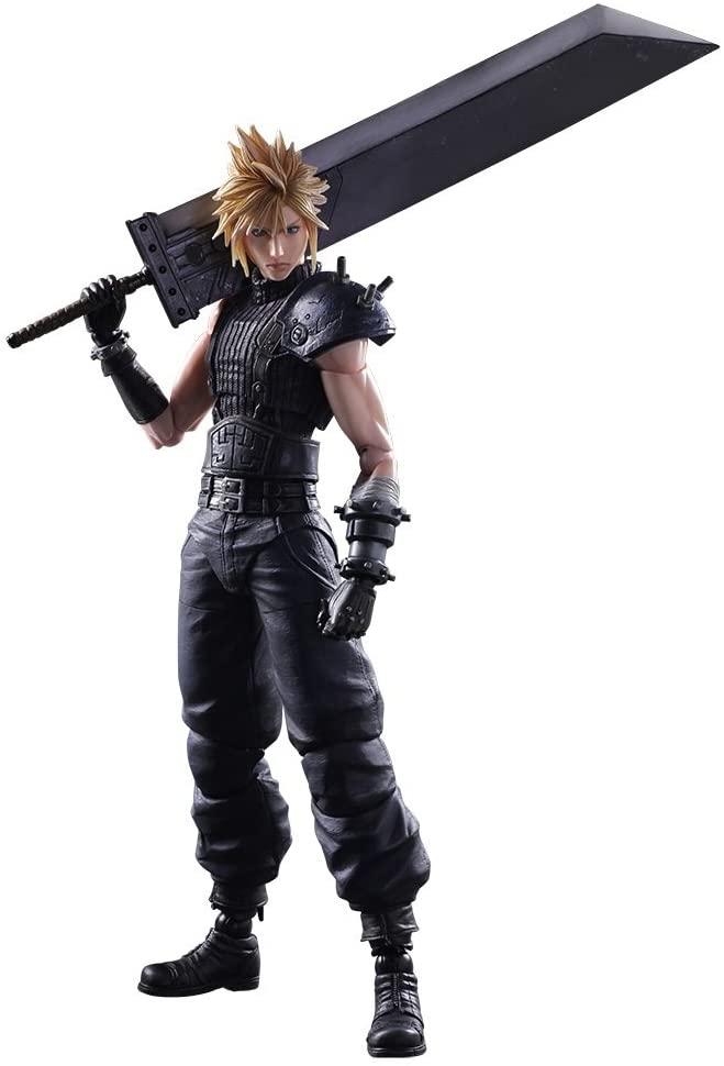 Amazon Com Square Enix Final Fantasy Vii Remake Cloud Strife Play Arts Kai Action Final Fantasy Vii Remake Final Fantasy Figures Play Arts Kai Action Figures