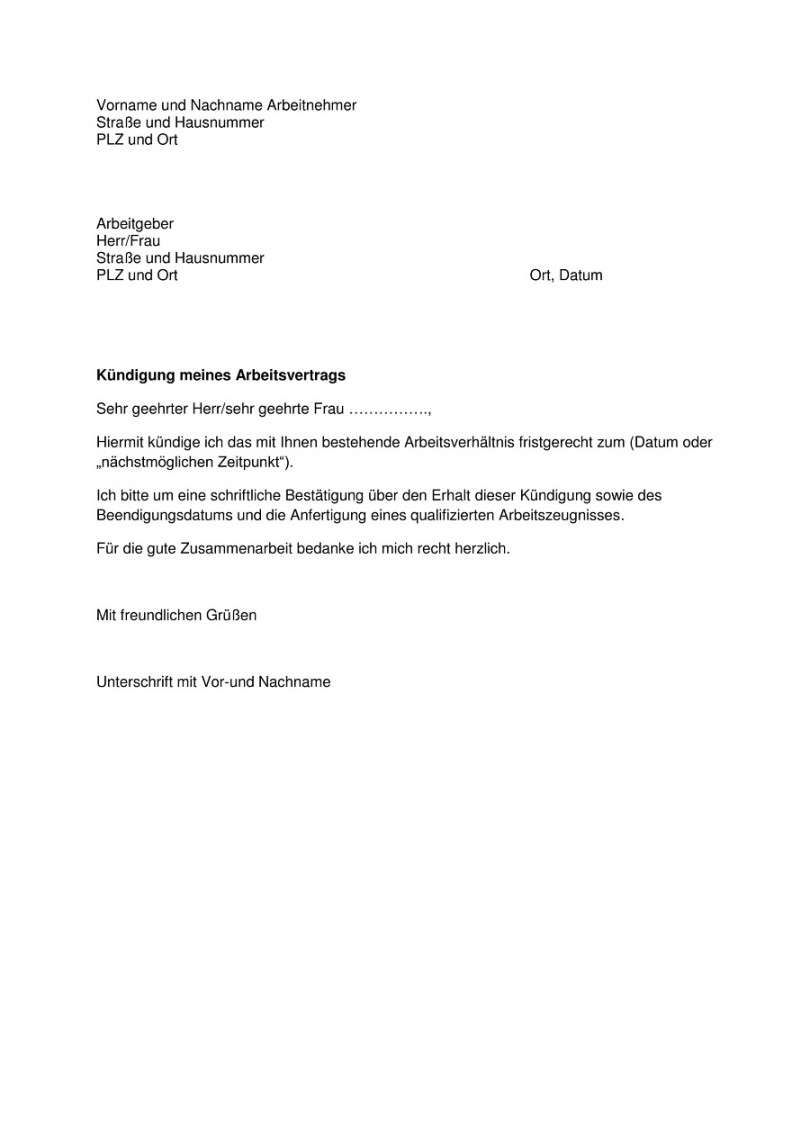 Primar Kundigungsschreiben Arbeitgeber Vorlage In 2020 Vorlagen Word Kundigung Schreiben Kundigung Arbeitsvertrag