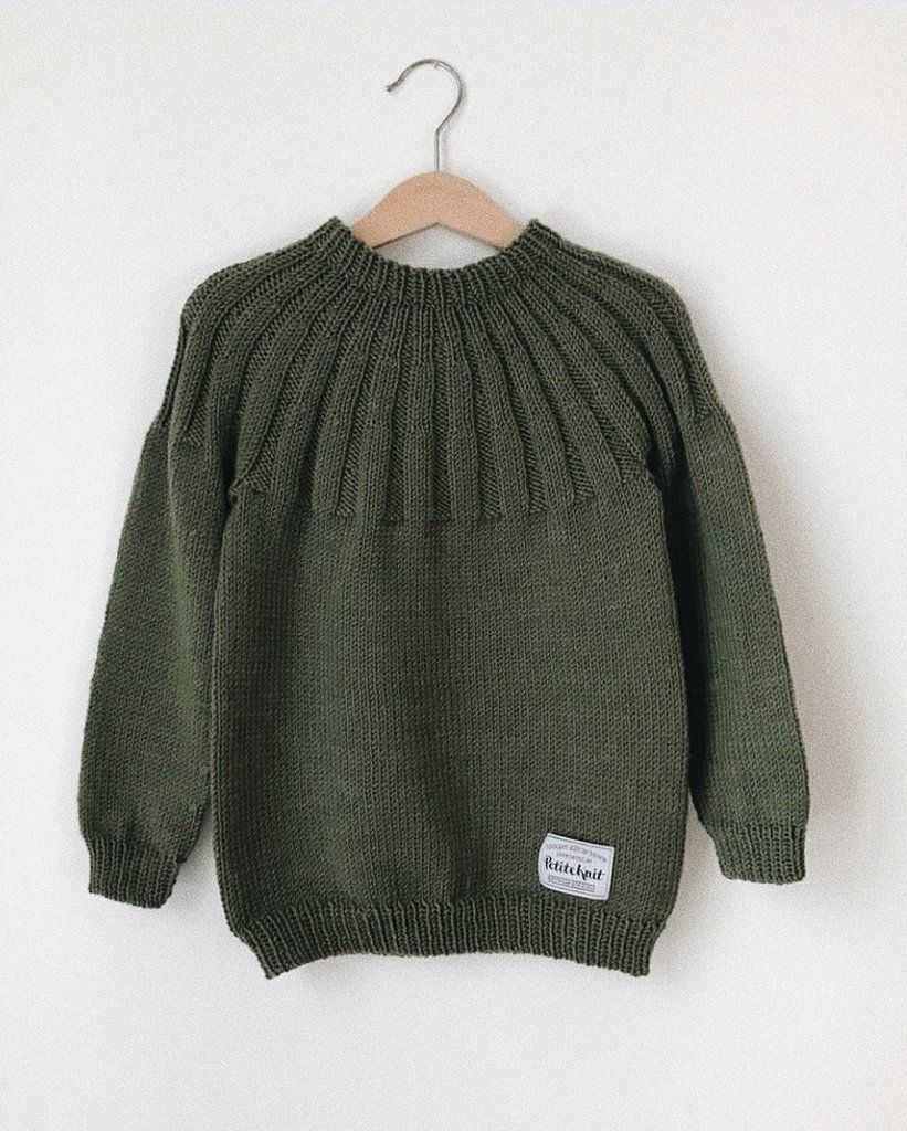 Haralds Sweater   Tovet genser, Genser, Strikkeoppskrifter