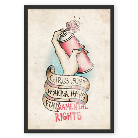Poster Girls de @brunodiniz   Colab55