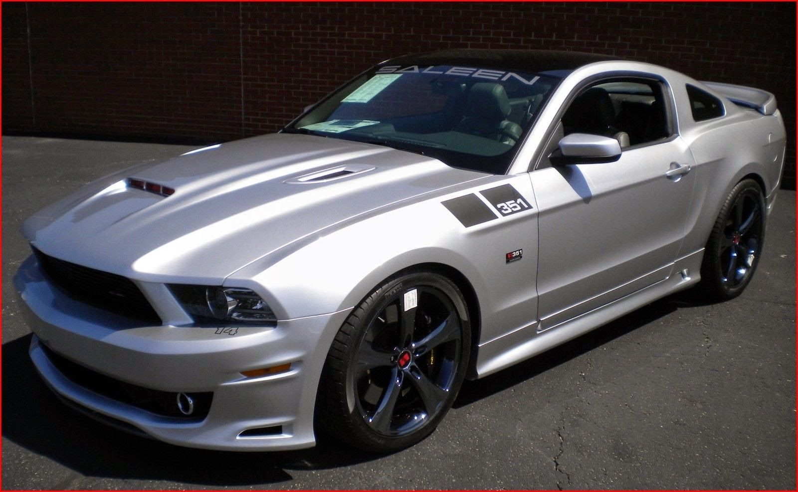 2014 ford mustang shelby gt500 saleen 351 extreme 700hp