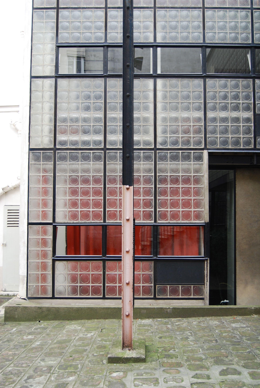 maison de verre paris by pierre chareau and bernard. Black Bedroom Furniture Sets. Home Design Ideas