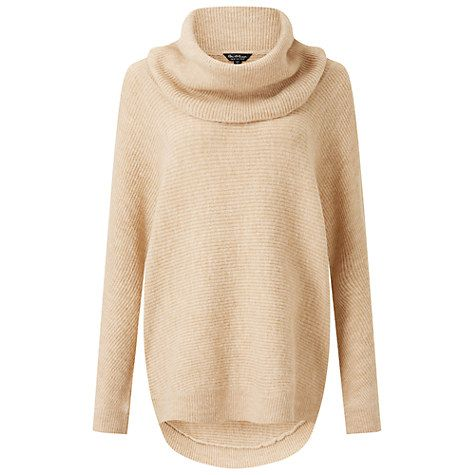 Buy Miss Selfridge Slouchy Cowl Neck Jumper Online at johnlewis ...