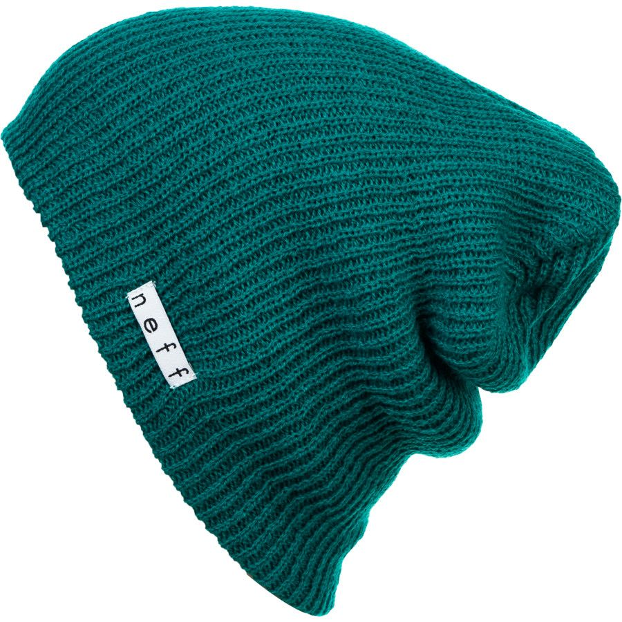 3a0174aea5e Dark Teal Beanie by Neff