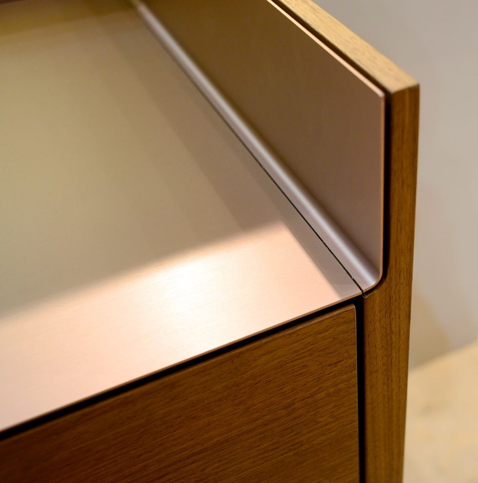Stainless Steel Detail Joinery Details Joinery Furniture Design