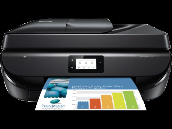 Hp Officejet 5255 All In One Printer M2u75a B1h Ink Toner Supplies In 2020 Hp Officejet Hp Printer Printer