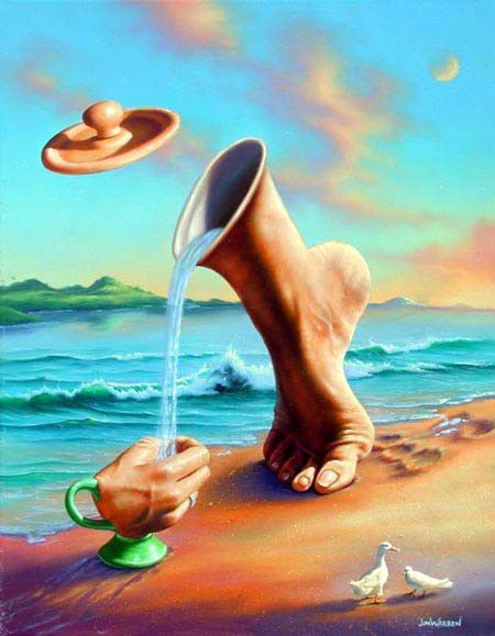 Magnifique Images Peintures Surrealiste Surrealisme Peinture Surrealisme Art Surrealiste