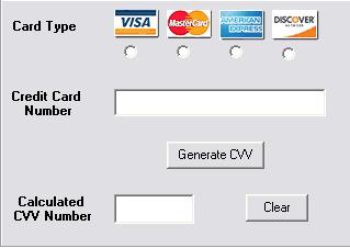 Real credit card numbers with real money