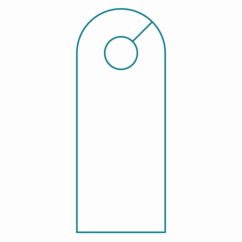 Door Hanger Template Word Gildenlow In 2020 Templates