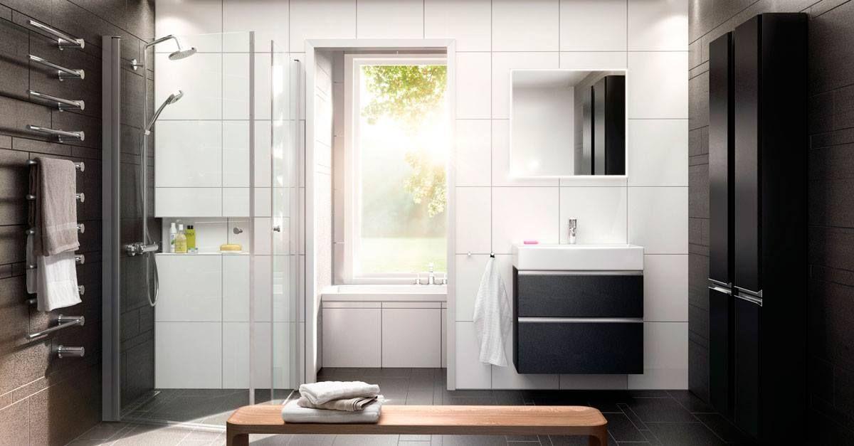 現代風格的北歐浴室設計 也受到全世界各地人們的喜愛 以白色基底為