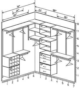 Sample Closet Designs On Freedomrail Systems Wire Shelving Design