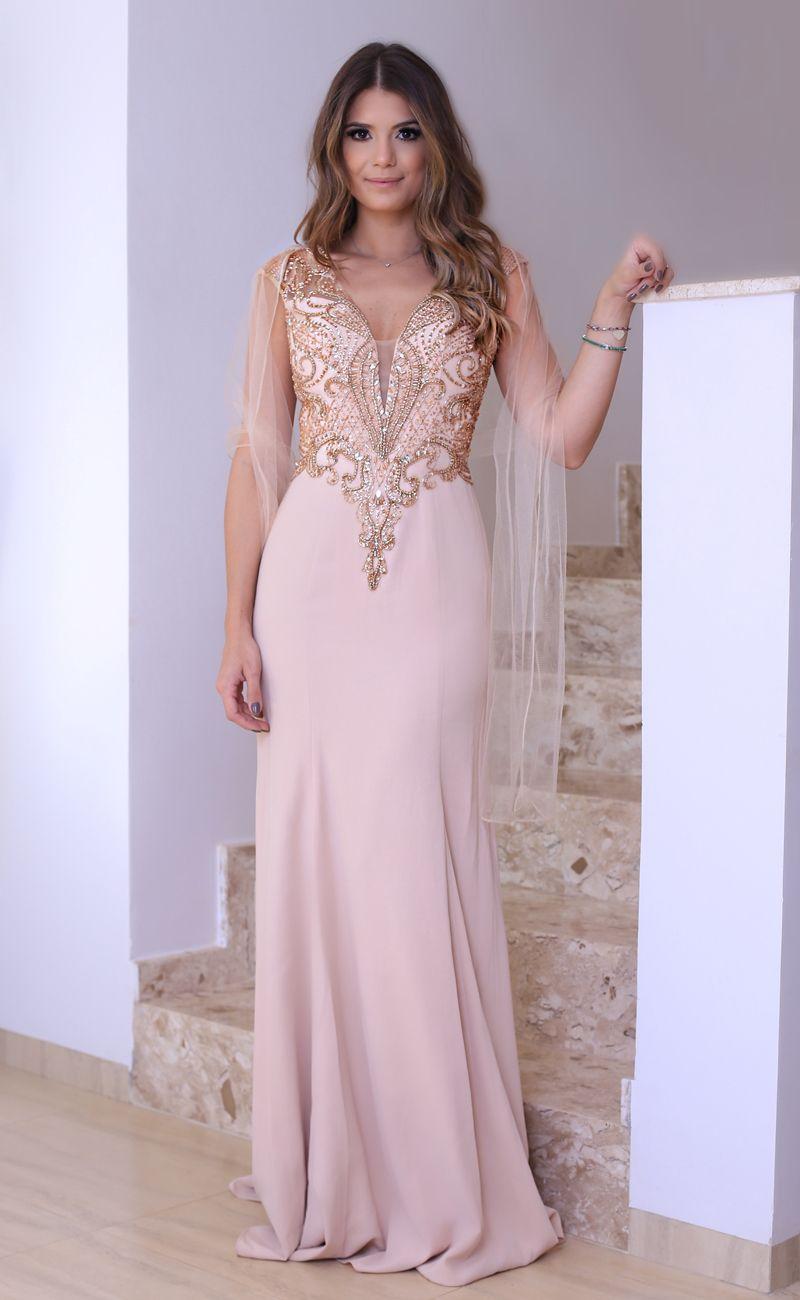Modelo de vestido para baile