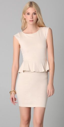 Victoria Peplum Dress by Alice + Olivia. This would look great paired with most kate spade new york jewelry :)
