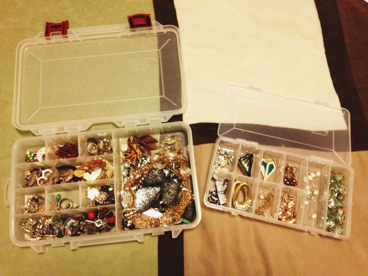Tackle Box DIY Cheap Jewelry Holder and separator for your