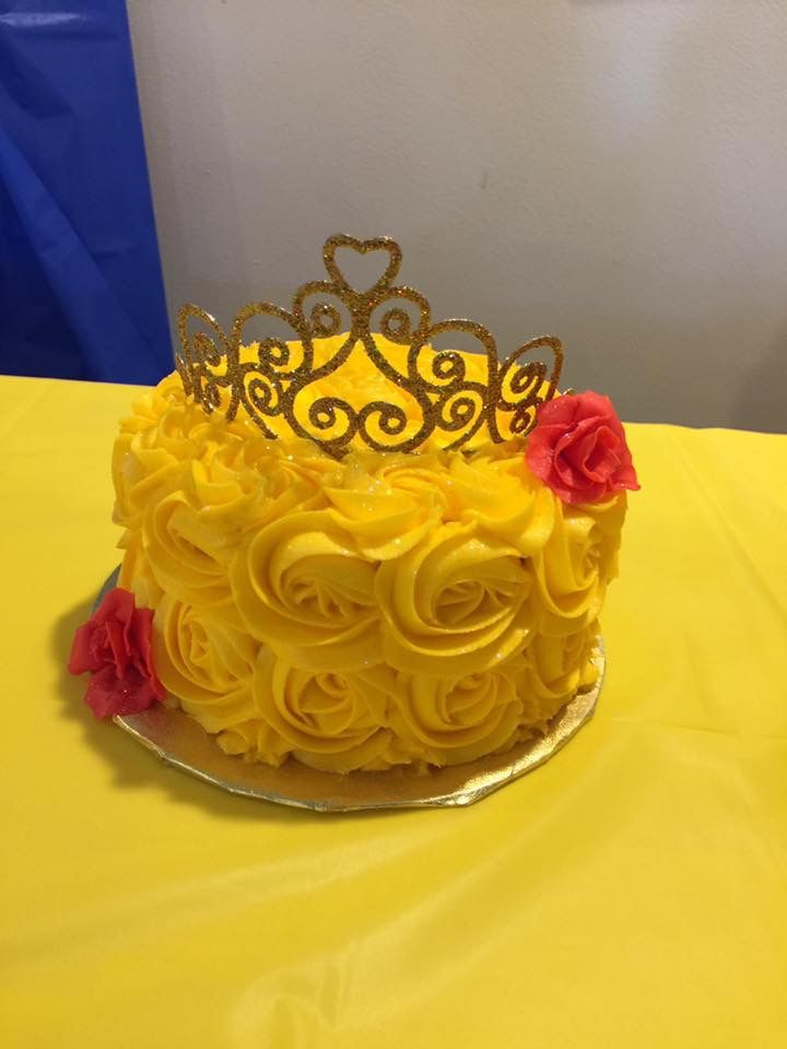 Beauty And The Beast Cake Smash