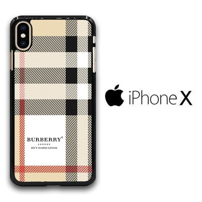 huge discount b6f5c 862cc Burberry pattern 004 iPhone X Case in 2019 | iPhone cases | Burberry ...